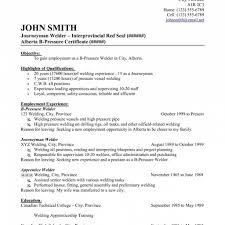 tig welder resume resume welder fabricator resume cover letter