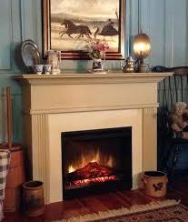 lexington electric fireplace mantel surround cabinet closeup