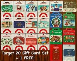 · target's popular gift card sale is sunday, dec. Brand New Target Christmas Holiday 2020 Gift Card Set Of 20 Cards 1 Free Ebay