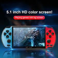 Máy Chơi Game Cầm Tay đa năng X7Plus PSP Handheld Game Console Dual  Joystick 5.1-inch Screen giá cạnh tranh