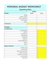 Monthly Family Budget Worksheet Best Household Budget Template