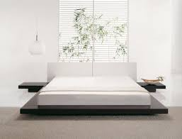 Bed Frame Styles dark floor japan style bed frame with clean white headboard and 7708 by xevi.us