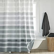 image of DKNY Highline Stripe Shower Curtain