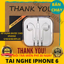 Tai Nghe iphone jack tròn 3.5mm sử dụng cho iphone 5/5s/6/6s/6plus