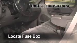 interior fuse box location 1997 2004 ford f 150 1999 ford f 150 interior fuse box location 1997 2004 ford f 150 1999 ford f 150 xlt 4 6l v8 extended cab pickup 4 door