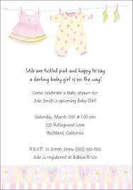 Cute Personalized Baby Girl Shower Invitations