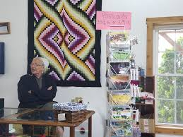 Little Helpers Quilt Shop, Shipshewana, IN | Dragonfly Quilts Blog & The bed was piled high with beautifully made quilts all hand-quilted and  there were quilts hanging all over the store. If you ever decide to  purchase a ... Adamdwight.com