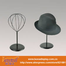 Single Hat Display Stand Inspiration Round Base Metal Single Hat Display Stand Buy Single Hat Display