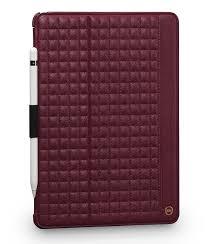 sena isa future folio leather case for ipad pro 10 5 bordeaux