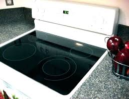 ge glass top stove burner not working glass top electric stove glass top stove burner not ge glass top stove