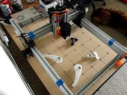 picture of modular diy cnc machine