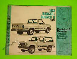 1984 ford ranger bronco ii electrical wiring diagrams service shop image is loading 1984 ford ranger bronco ii electrical wiring diagrams