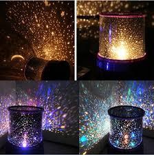 Night Stars Bedroom Lamp Romantic Led Starry Night Sky Projector Lamp Planetarium Star