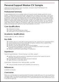 Sample Personal Resume Resume Bank