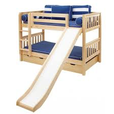 Playing Rejoice Bunk Beds With Stairs And Slide Kids Bedroom