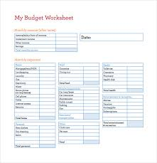 Free Budget Download 16 Budget Spreadsheet Templates Sample Example Format