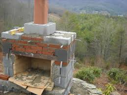 image of outdoor fireplace plans full size