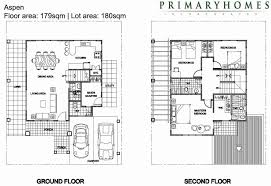 sample floor plan for 2 y house fresh sample house floor plans in the philippines sea