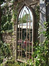large gothic style mirror in english