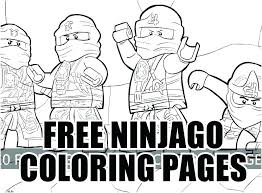 Surprising Idea Jay Ninjago Coloring Pages Lego Ninja Sheets Coloring