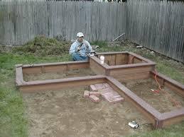 corner braces for raised garden beds 4399878624 d9109721da bomposite deck designs brackets h metal