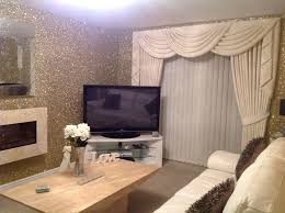 Wall Covering For Living Room Precious Metal Gold Glitter Wallcovering From Www