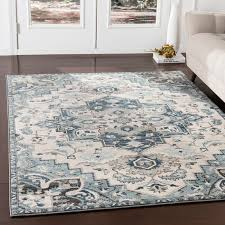 alley gray teal area rug rug size rectangle 7 10 x 9 10