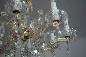 outdoor amazing austrian crystal chandelier 10 vintage parts antique replacement old made in spain 1950s fancy