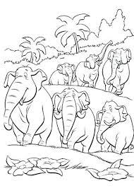 the jungle book coloring pages page baloo