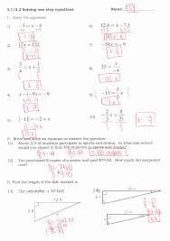multi step equations worksheet inspirational solving multi variables on both sides generator luxury varia