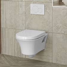 cossu wall hung dual flush toilet
