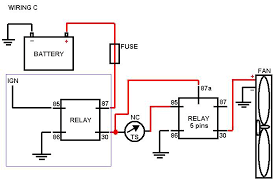 wiring diagram for fan relay the wiring diagram 5 pin relay wiring diagram fan 5 wiring diagrams for car or
