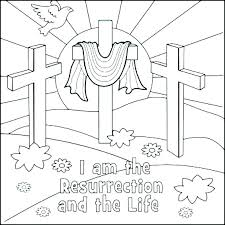 Easter Coloring Pages Religious Coloring Pages Religious Education