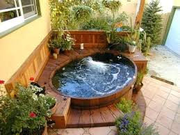 round hot tub surround bathtubs idea affordable tubs drop in bathtub solid wooden surrounding for soaking tub hot tub surround ideas