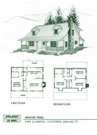 Eplans Log Houses House Plan  Four Bedroom Log Houses  2741 4 Bedroom Log Cabin Floor Plans