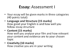 film essay structure film theory and analysis lesson 10 film theory and analysis manu