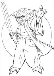 Small Picture Star Wars Perfect Yoda Coloring Pages Coloring Page and Coloring