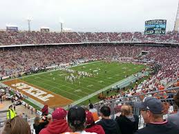 Cotton Bowl Stadium Virtual Seating Chart Cotton Bowl Section 113 Rateyourseats Com