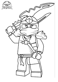Lego Ninjago Coloring Pages Jay Amazing Snake Free From Season