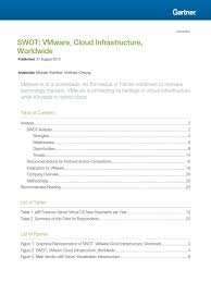 chevron phillips chemical company llc strategic swot swot vmware cloud infra