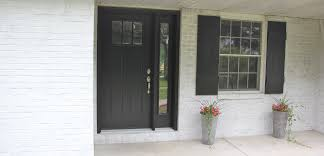 Tricorn Black Sherwin Williams Exterior Reface Part 1 The Productive Pair