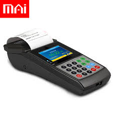 Ticket Vending Machine Stunning MAi Wheat MX48 Handheld Consumer Machine Canteen Credit Card