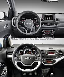2018 kia picanto. wonderful 2018 2017 kia picanto vs 2015 interior old new on 2018 kia picanto