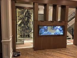 3d aquarium background aquadecor model f in a fish tank