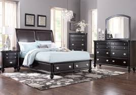 bedroom set design furniture. picture of remington place espresso 5 pc queen sleigh bedroom from sets furniture set design