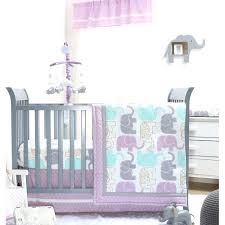 purple crib bedding sets little peanut 6 piece crib bedding set purple elephant crib bedding set