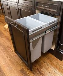 pull out trash and recycling cabinet from ultracraft in action pull out trash and recycling cabinet from ultracraft in action