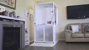 Shower Toilet Combo Careport Your Portable Bathroom Solution Youtube