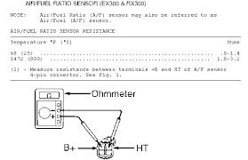 diy measuring air fuel sensor resistance club lexus forums diy measuring air fuel sensor resistance rx300 repair manual1780 jpg