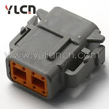 online buy whole female waterproof harness connector from 8 pin female waterproof auto wire harness connector terminal and seal dtm06 8s